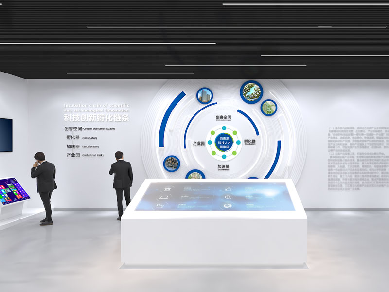 东莞开发区科技创新中心——政府展厅设计装修