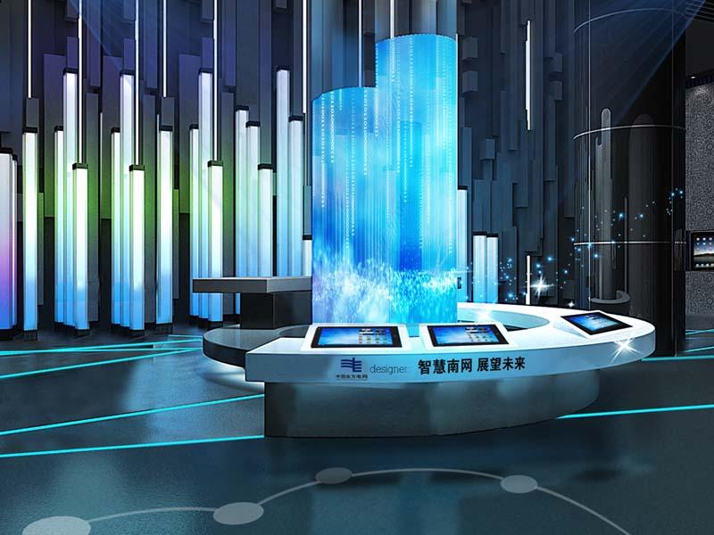 南方电网——国有企业展厅设计
