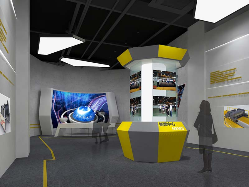 工埠机械集团——机械企业展厅设计