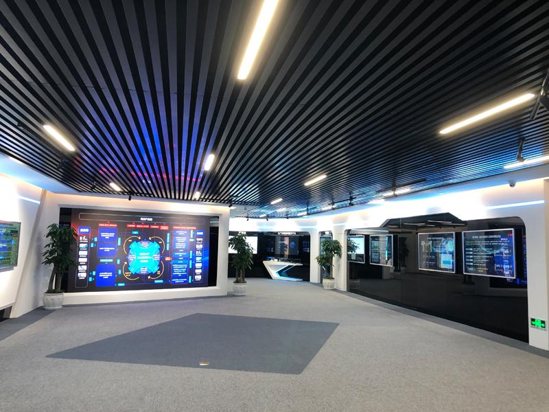 忽米网——工业互联网科技展厅设计