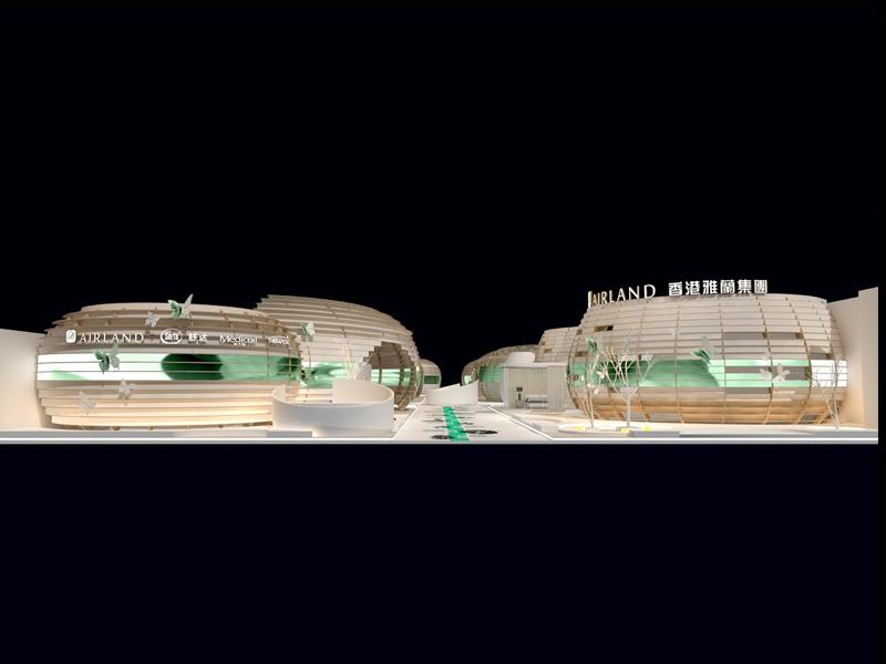 雅兰集团——家具展设计搭建