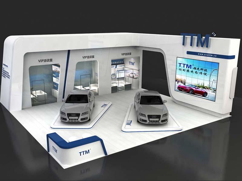 TTM车漆盾甲膜——汽车展设计搭建