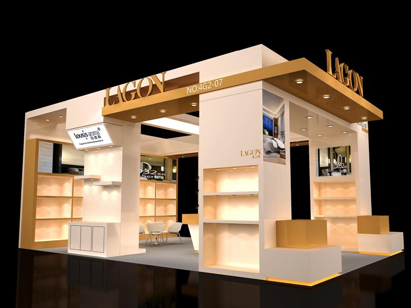 龙之湖——酒店用品展设计搭建