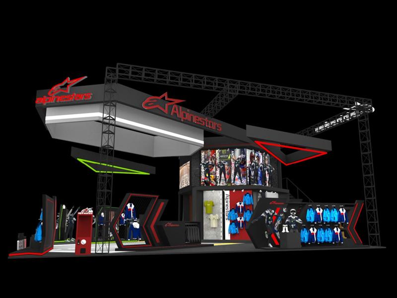 泰安摩品汇——汽车摩托展设计搭建