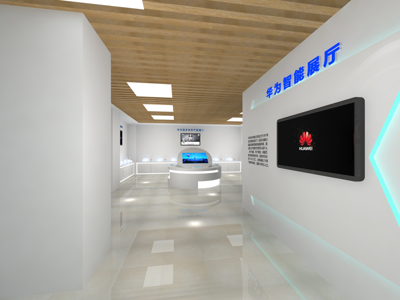 华为——手机展厅设计装修