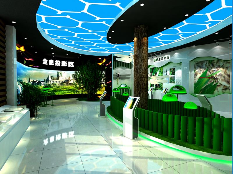 南昆山蜻蜓馆——动植物展厅设计装修