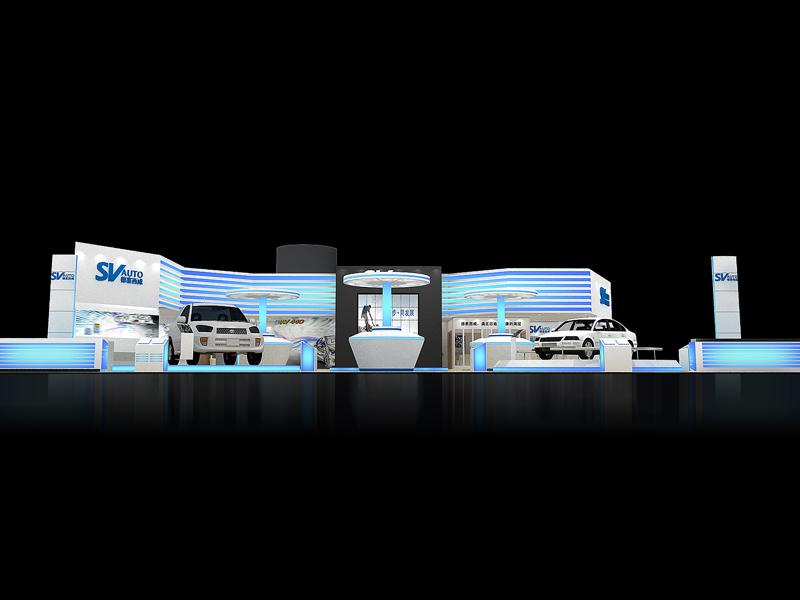 德赛西威——汽车展设计搭建