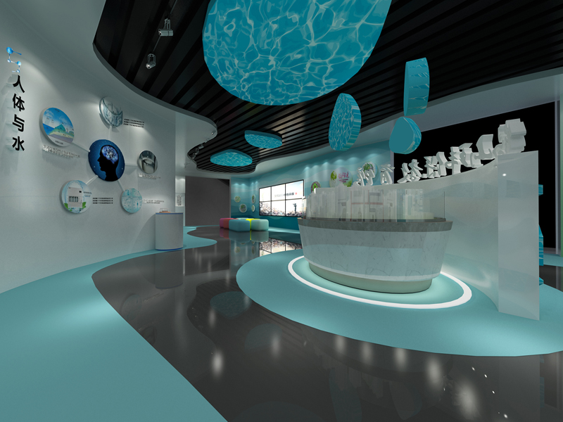 鹤山——水环保展厅设计装修