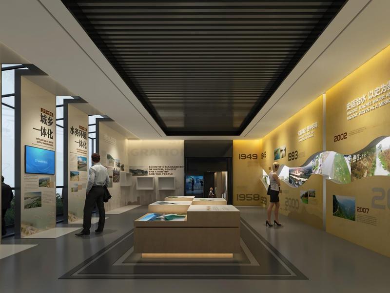 鹤山环保教育基地展馆——环保教育展厅设计装修