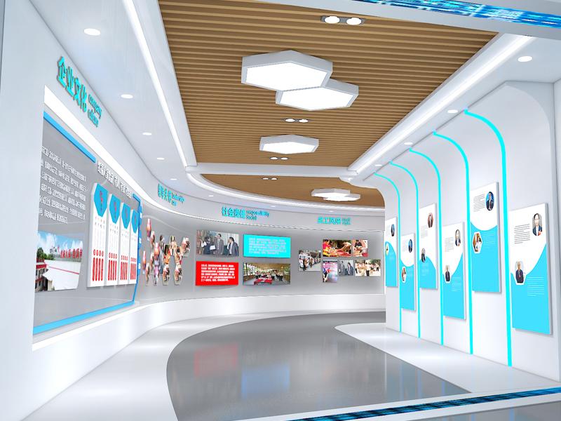 红福人家——食品展厅设计装修