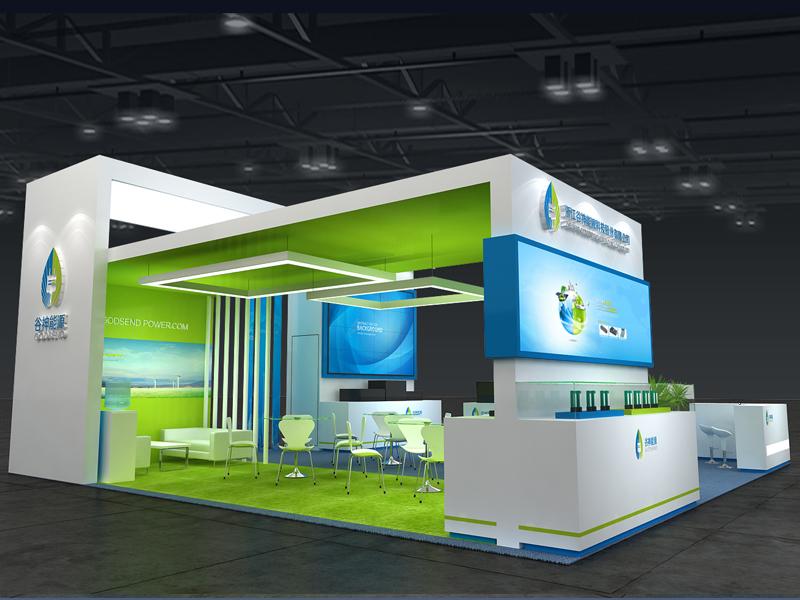谷神能源——能源展设计搭建