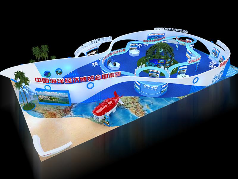 海博会国家馆——政府展设计搭建