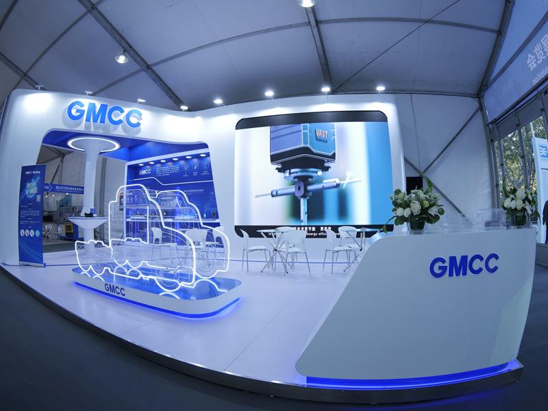 GMCC——车用空调展设计搭建
