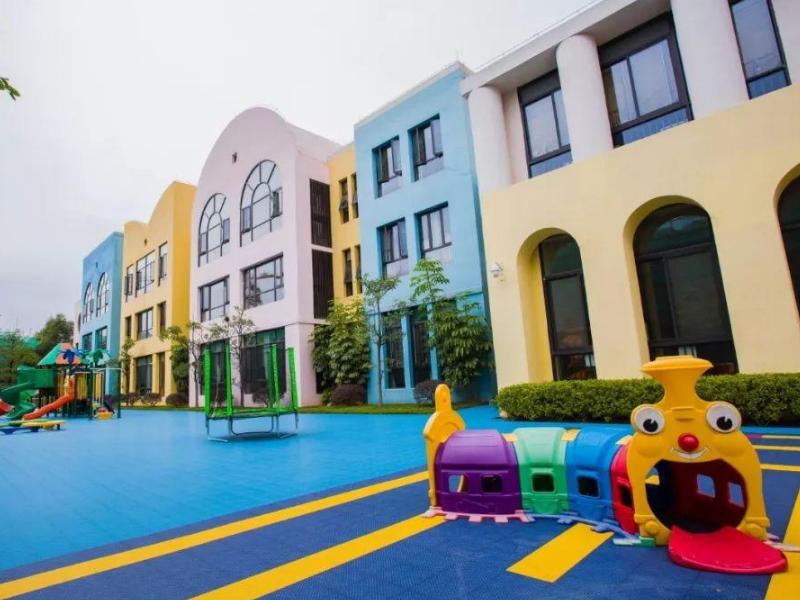 空军蓝天幼儿园——幼儿园展厅设计装修