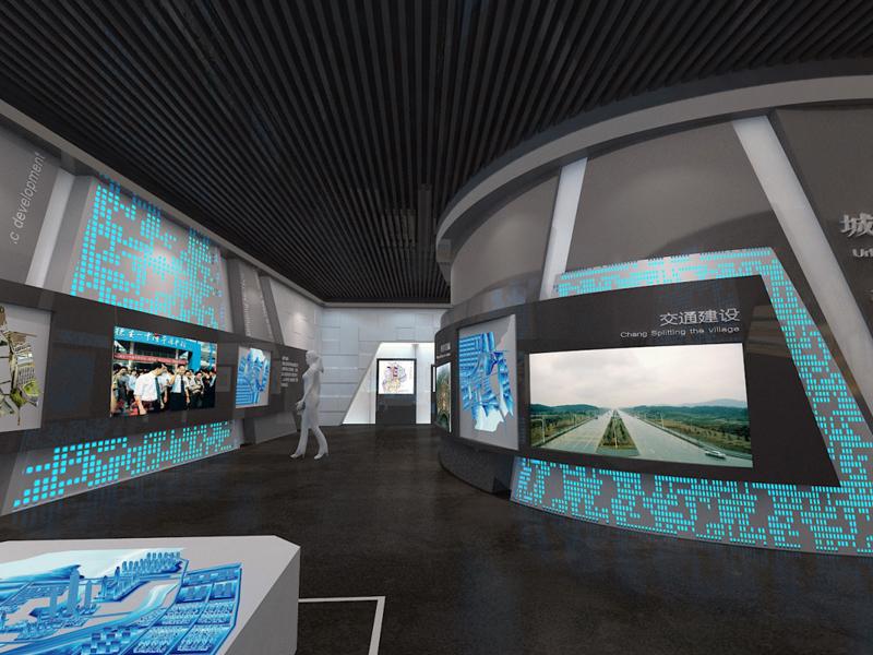 德安县规划展示馆——规划科技展厅设计