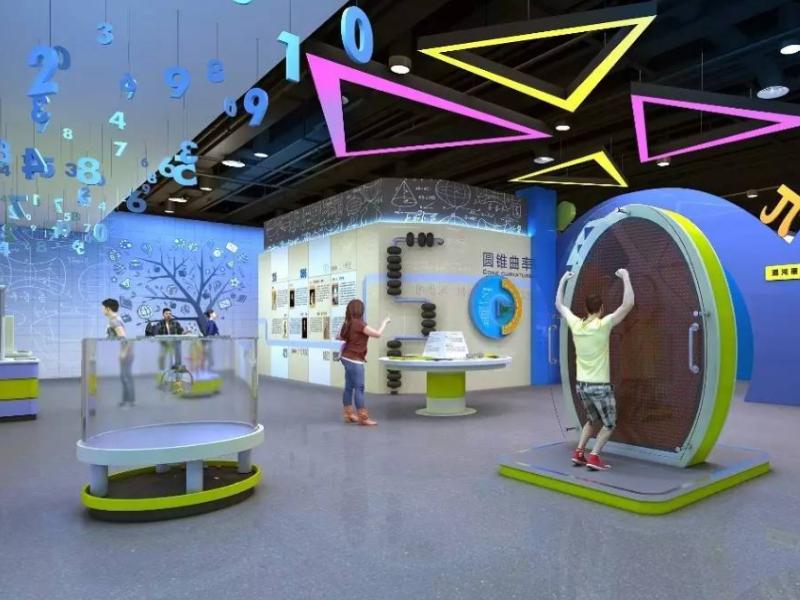 湖州科技展览馆——科技馆展厅设计