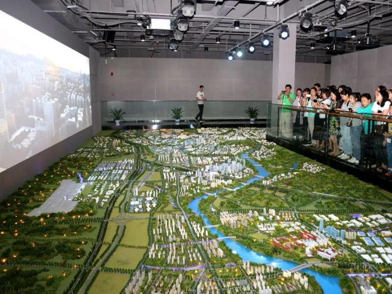 赣州市城市规划展示馆——城市规划馆设计装修