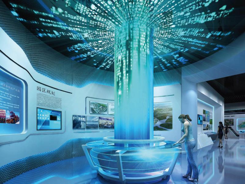 九台城市规划展览中心——城市规划馆设计装修