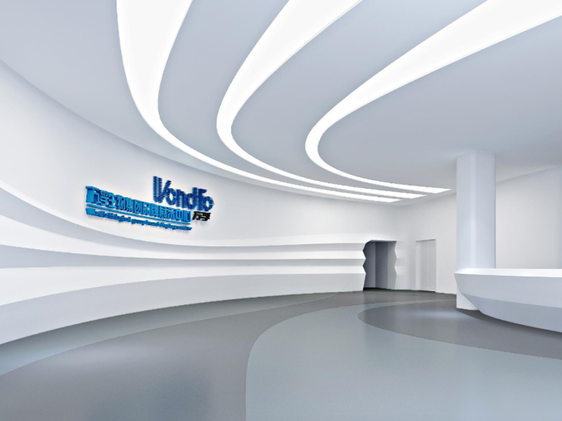 万孚生物——企业科技展厅设计