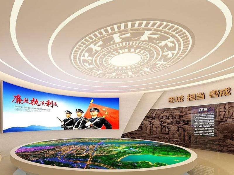 广西贵港市公安局——警史馆设计装修