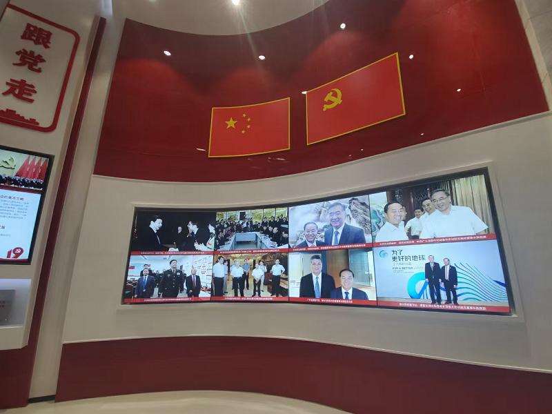 立白——企业党建展厅设计装修
