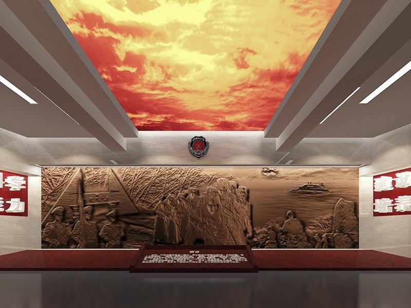 湖北消防襄阳大队——荣誉室设计