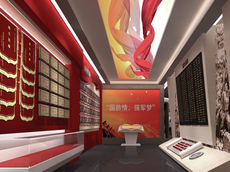 武警二师贺龙特务团——军史馆策划设计