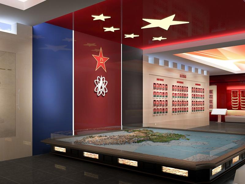 西部战区战略支援部队——军史馆设计策划