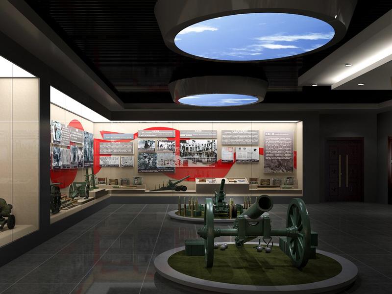 中部战区合成旅——史料陈列室设计