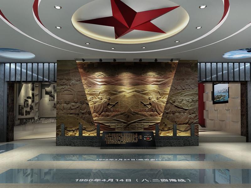 中国人民解放军东海舰队师——军史馆设计