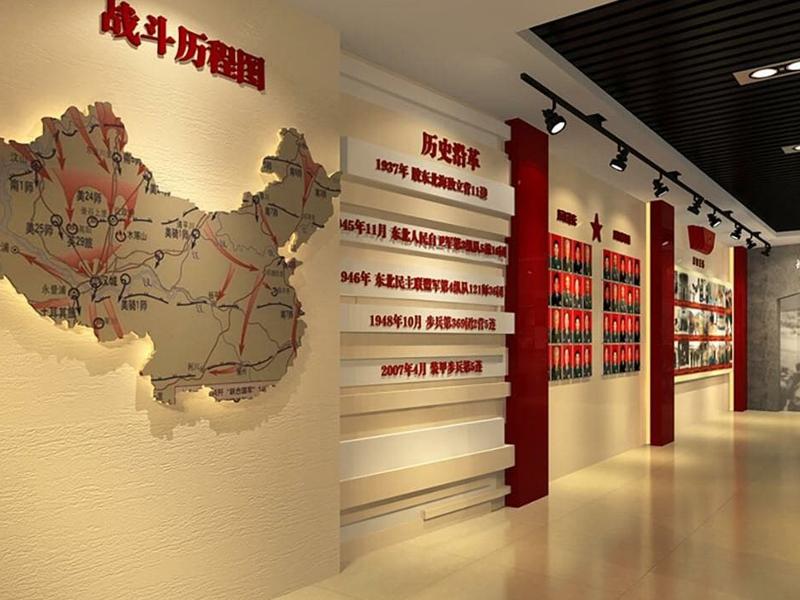 中国人民解放军陆军——荣誉室施工工程