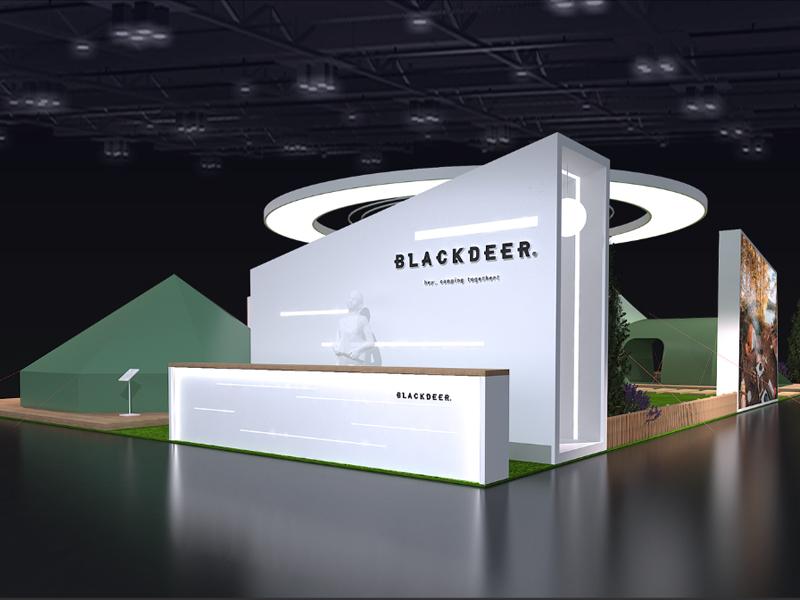 杭州黑鹿——礼品户外用品展设计搭建
