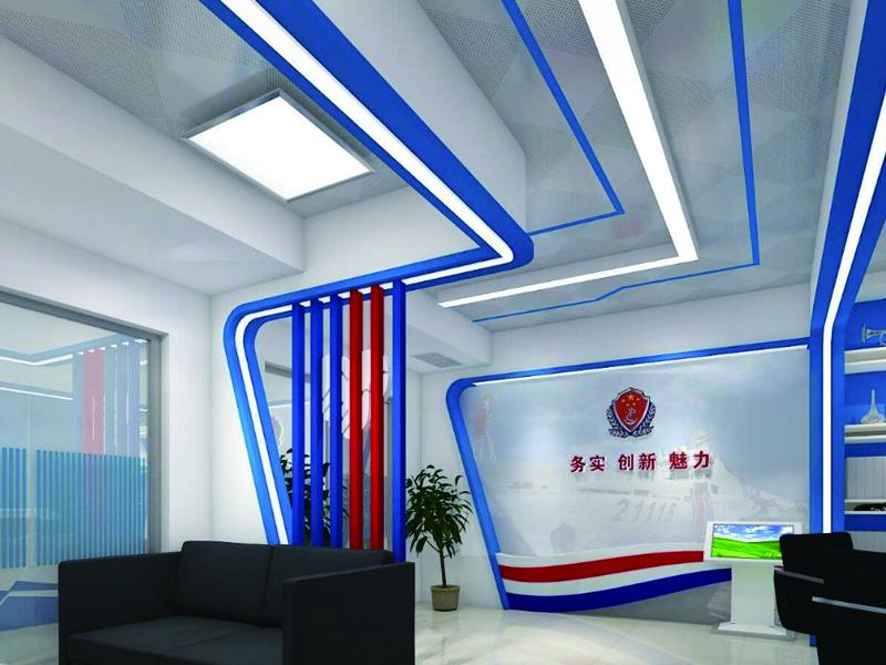 广西海警第一支队——营区文化功能房设计