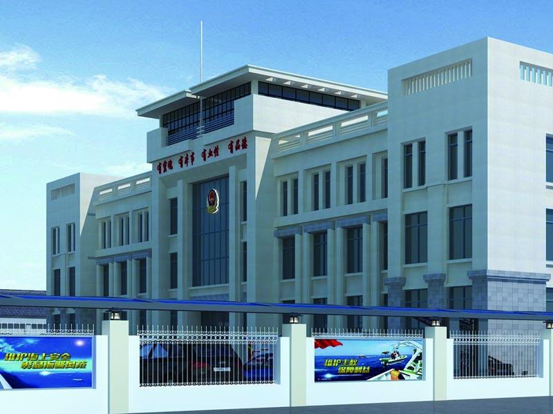 海警部队支队——军史长廊设计