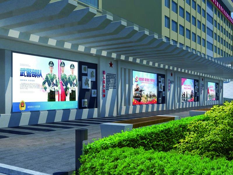 武警江门支队——军史长廊设计