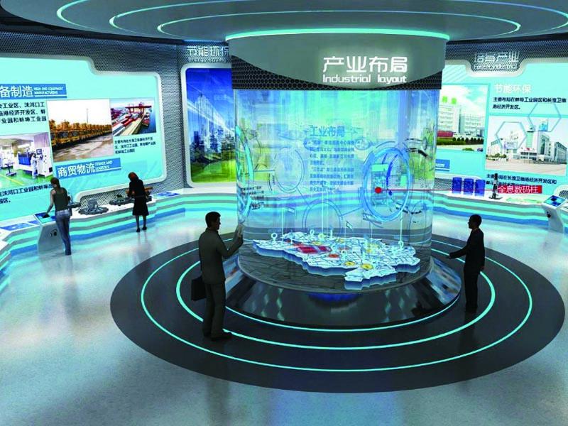 蚌埠市规划馆——规划馆设计装修