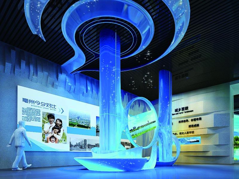 亳州市城市规划馆——规划馆设计策划